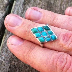 Vintage Jewelry - Vintage Turquoise Ring
